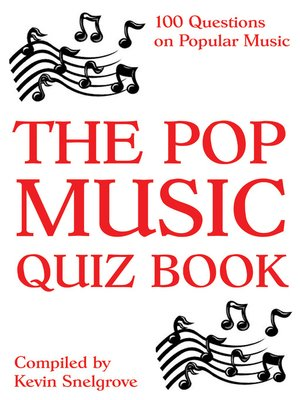 cover image of The Pop Music Quiz Book