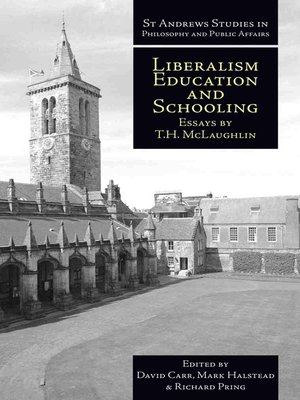 cover image of Liberalism, Education and Schooling