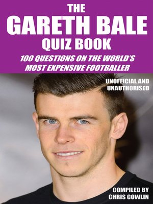 cover image of The Gareth Bale Quiz Book