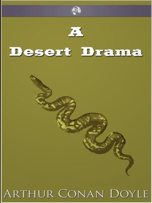 cover image of A Desert Drama