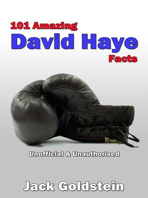 cover image of 101 Amazing David Haye Facts