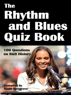 cover image of The Rhythm and Blues Quiz Book