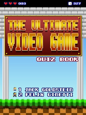 cover image of The Ultimate Video Game Quiz Book