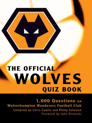 cover image of The Official Wolves Quiz Book