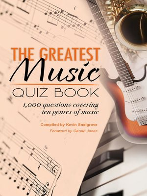 cover image of The Greatest Music Quiz Book