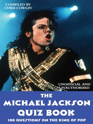 cover image of The Michael Jackson Quiz Book