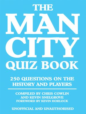 cover image of The Man City Quiz Book