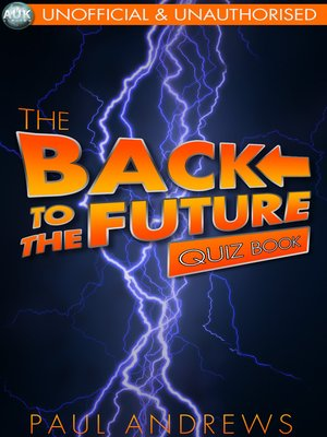 cover image of The Back to the Future Quiz Book