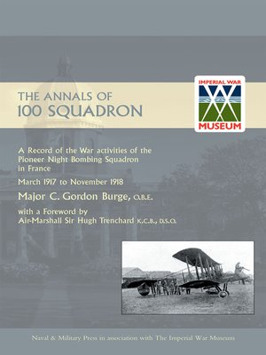 cover image of The Annals of 100 Squadron