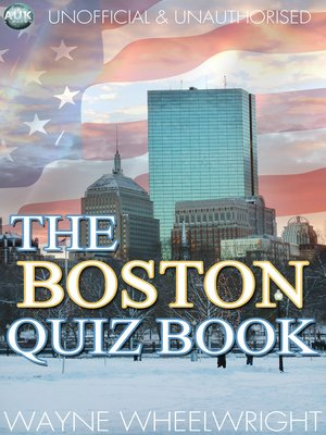cover image of The Boston Quiz Book