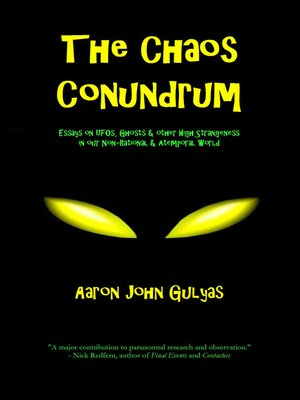 cover image of The Chaos Conundrum