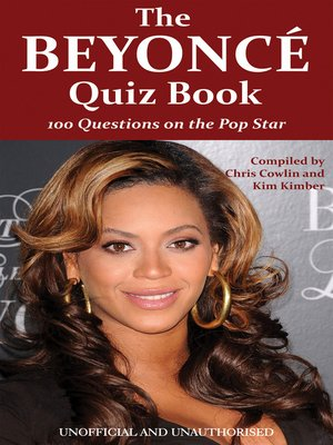 cover image of The Beyoncé Quiz Book