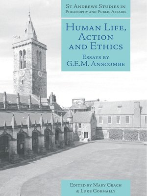 cover image of Human Life, Action and Ethics