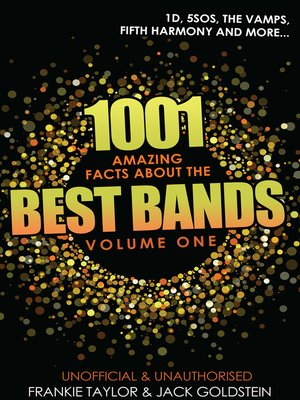 cover image of 1001 Amazing Facts about The Best Bands - Volume 1