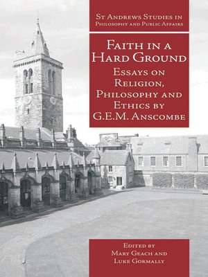 cover image of Faith in a Hard Ground