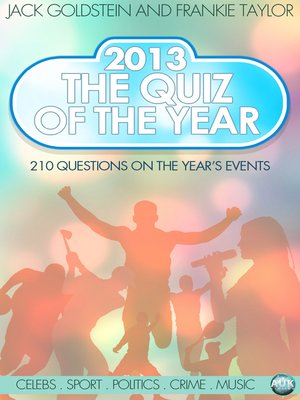 cover image of 2013 - The Quiz of the Year