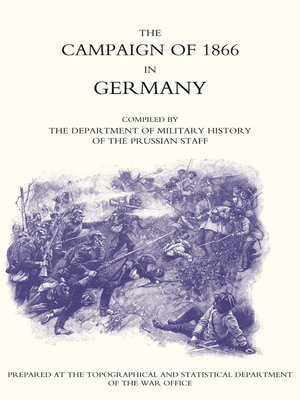 cover image of Campaign of 1866 in Germany