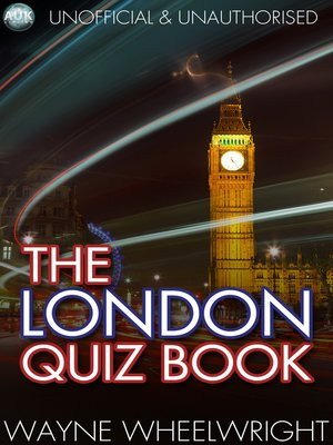 cover image of The London Quiz Book
