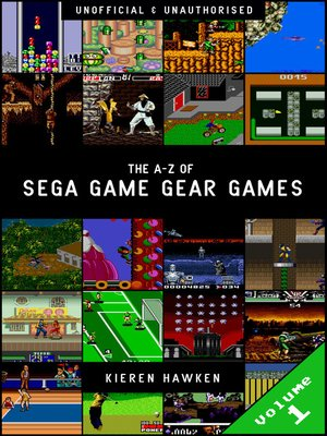 cover image of The A-Z of Sega Game Gear Games: Volume 1