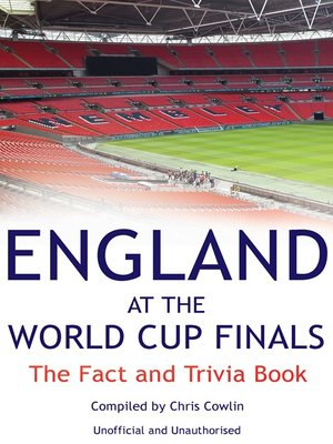 cover image of England at the World Cup Finals