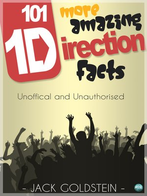cover image of 101 More Amazing One Direction Facts