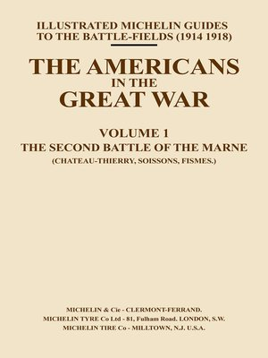 cover image of The Americans in the Great War, Volume 1