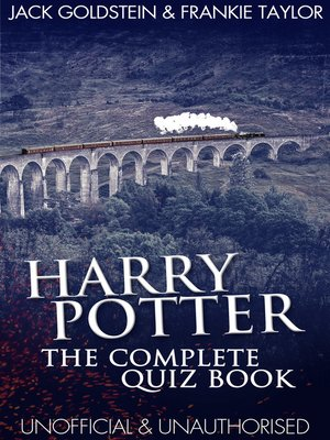cover image of Harry Potter - The Complete Quiz Book