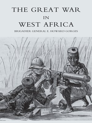 cover image of The Great War in West Africa