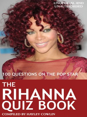 cover image of The Rihanna Quiz Book