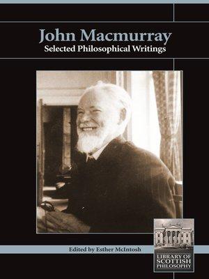 cover image of John Macmurray