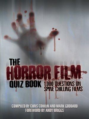 cover image of The Horror Film Quiz Book