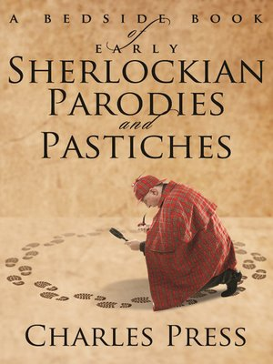 cover image of A Bedside Book of Early Sherlockian Parodies and Pastiches