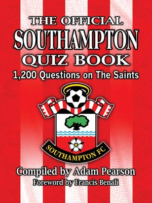 cover image of The Official Southampton FC Quiz Book