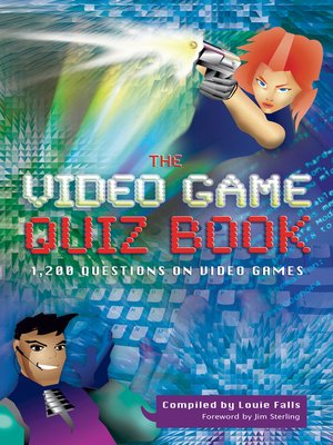 cover image of The Video Game Quiz Book