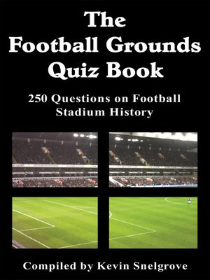 cover image of The Football Grounds Quiz Book