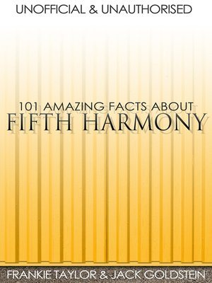 cover image of 101 Amazing Facts about Fifth Harmony