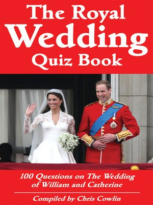 cover image of The Royal Wedding Quiz Book