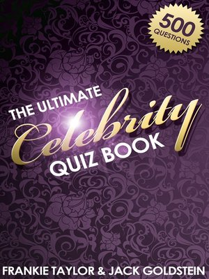 cover image of The Ultimate Celebrity Quiz Book