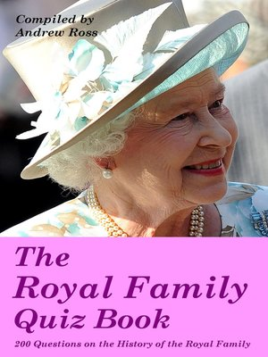 cover image of The Royal Family Quiz Book