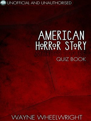 cover image of American Horror Story - Murder House Quiz Book