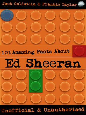 cover image of 101 Amazing Facts About Ed Sheeran