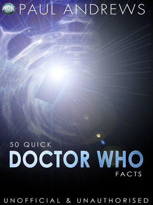 cover image of 50 Quick Doctor Who Facts