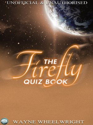 cover image of The Firefly Quiz Book