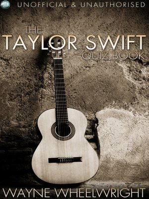 cover image of The Taylor Swift Quiz Book