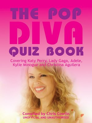 cover image of The Pop Diva Quiz Book