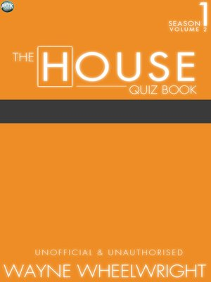 cover image of The House Quiz Book Season 1, Volume 2
