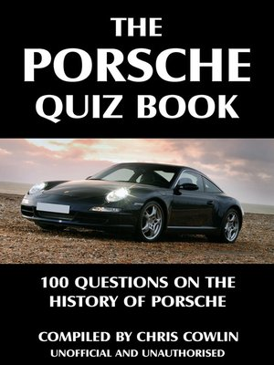 cover image of The Porsche Quiz Book