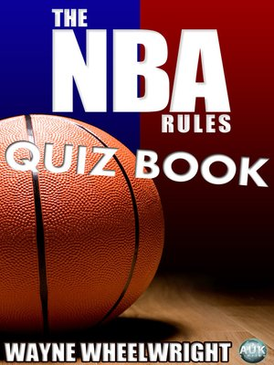 cover image of The NBA Rules Quiz Book