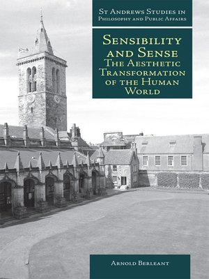 cover image of Sensibility and Sense