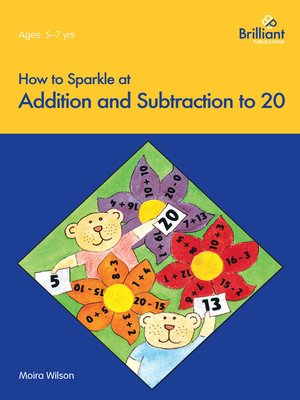 cover image of How to Sparkle at Addition and Subtraction to 20